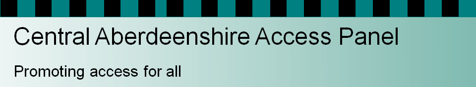 Central Aberdeenshire Access Panel – promoting access for all